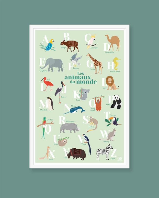 abécédaire animaux du monde